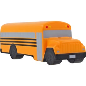 Conventional School Bus Stress Ball Branded with Your Logo
