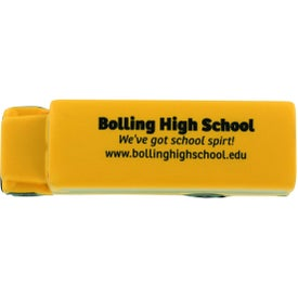 Personalized Conventional School Bus Stress Ball