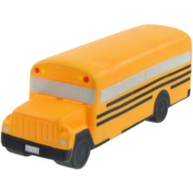 School Bus Stress Toy with Your Logo