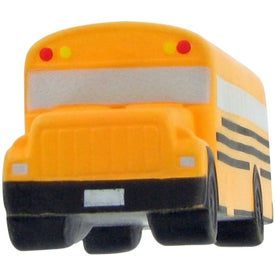 Imprinted School Bus Stress Toy