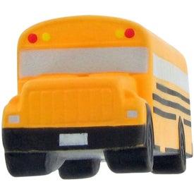 Imprinted School Bus Stress Toy