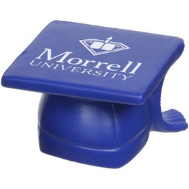 Mortarboard Hat Stress Ball for Marketing