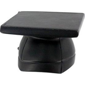 Monogrammed Mortarboard Hat Stress Ball