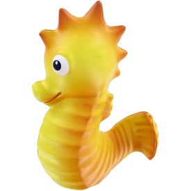 Sea Horse Stress Toy Branded with Your Logo