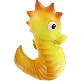 Customized Sea Horse Stress Toy