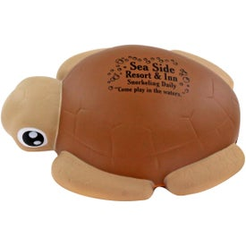 Monogrammed Sea Turtle Stress Ball