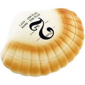 Personalized Seashell Stress Toy