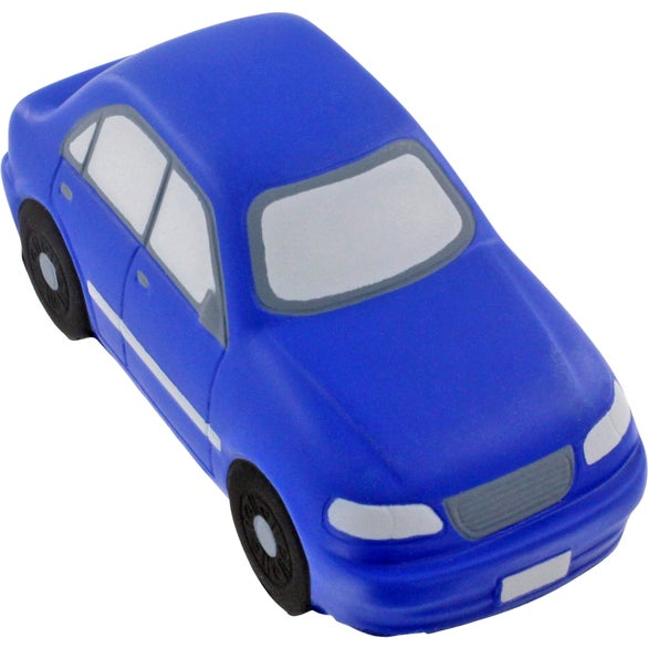 Blue Sedan Stress Ball