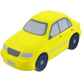 Imprinted Sedan Stress Toy