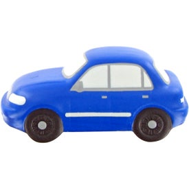 Imprinted Sedan Stress Toy