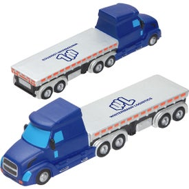 Semi Flatbed Truck Stress Ball