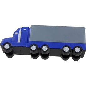 Semi Truck Stress Ball Printed with Your Logo