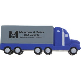 Semi Truck Stress Ball for your School