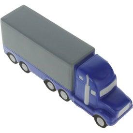 Company Semi Truck Stress Ball