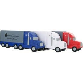 Branded Semi Truck Stress Ball
