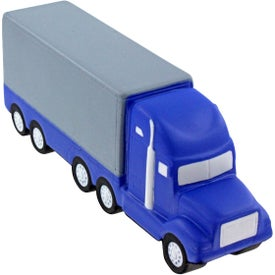 Semi Truck Stress Ball with Your Slogan
