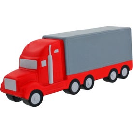 Promotional Semi Truck Stress Ball