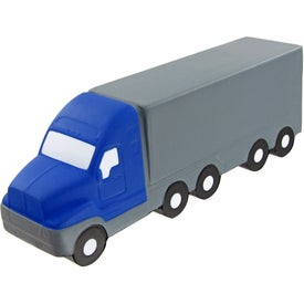 Branded Semi Truck Large Stress Toy
