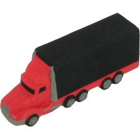Monogrammed Semi Truck Stress Reliever