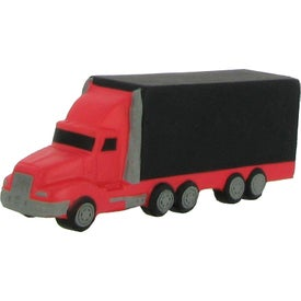 Semi Truck Stress Reliever Imprinted with Your Logo