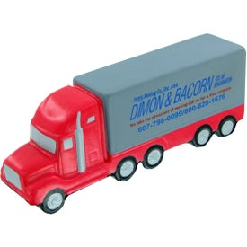 High Detail Semi Truck Stress Toy for Promotion