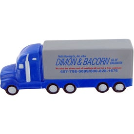 Custom Semi Truck Stress Toy Branded with Your Logo