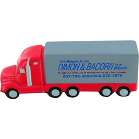 High Detail Semi Truck Stress Toy Giveaways