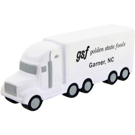 Advertising High Detail Semi Truck Stress Toy