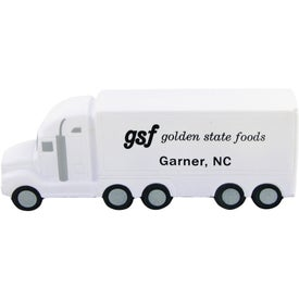 Printed High Detail Semi Truck Stress Toy