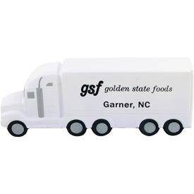 Printed Custom Semi Truck Stress Toy