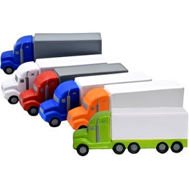 Promotional High Detail Semi Truck Stress Toy