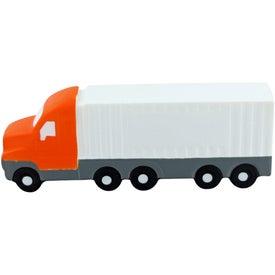 Monogrammed Semi Truck Stress Toys