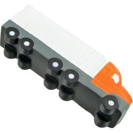 Imprinted Semi Truck Stress Toys