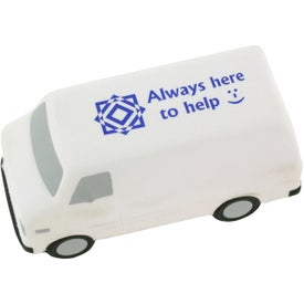 Service Van Stress Ball Imprinted with Your Logo
