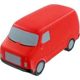 Monogrammed Service Van Stress Toy