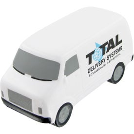 Service Van Stress Toy for Promotion