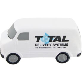 Promotional Service Van Stress Toy