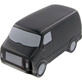 Service Van Stress Toy Imprinted with Your Logo