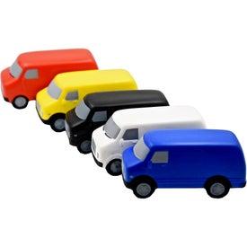 Promotional Service Van Stress Toy
