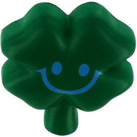 Custom Shamrock Stress Reliever