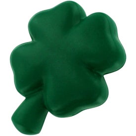 Shamrock Stress Reliever Branded with Your Logo