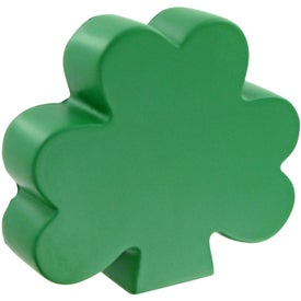 Printed Shamrock Stress Toy