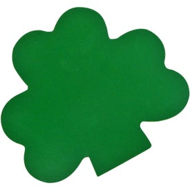 Shamrock Stress Toy Imprinted with Your Logo