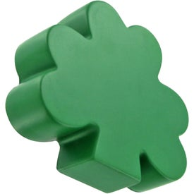 Branded Shamrock Stress Toy