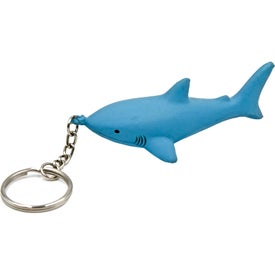 Shark Keychain Stress Toy for Promotion