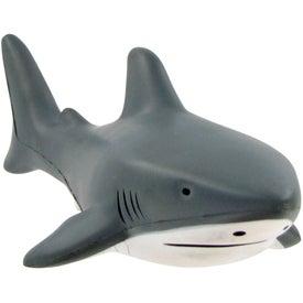 Imprinted Shark Stress Toy