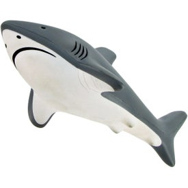 Personalized Shark Stress Toy