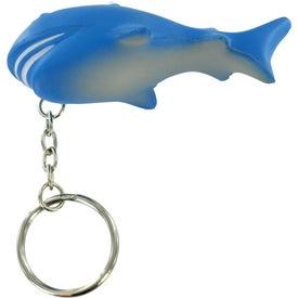 Company Shark Stress Ball Key Chain