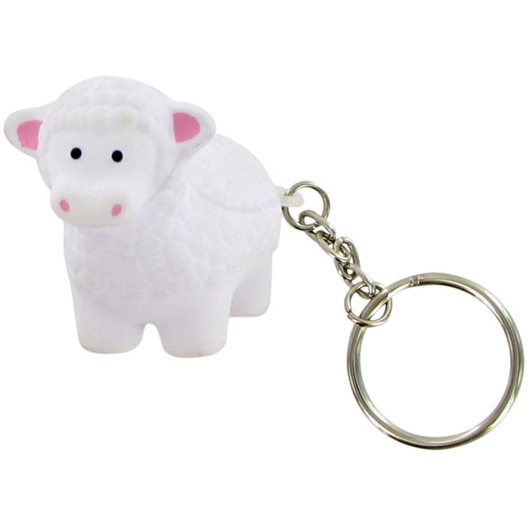 Sheep Keychain Stress Toy