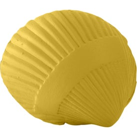 Shell Stress Reliever with Your Slogan